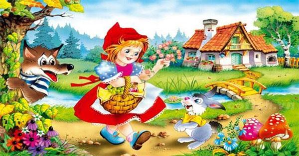 Truyện Cô bé quàng khăn đỏ - Ý nghĩa truyện cổ tích cô bé quàng khăn đỏ