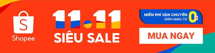 Mua hàng siêu khuyến mãi siêu sales trên Shopee