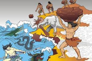 Truyền thuyết về Sơn Tinh, Thủy Tinh