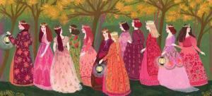 Mười hai nàng công chúa và những đôi giày nhảy rách