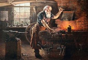 Người thợ rèn và con chó
