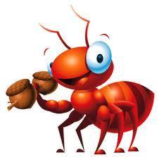 Đàn kiến con ngoan quá !
