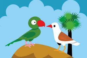Sự tích chim Quốc